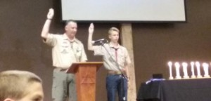 Eagle Scout Honor Court for a friend.